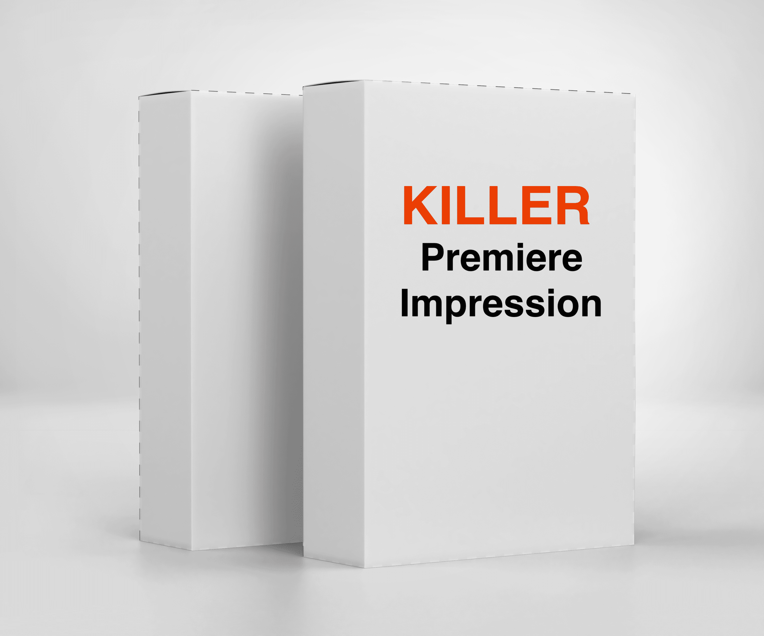 Box de presentation killer premiere impression