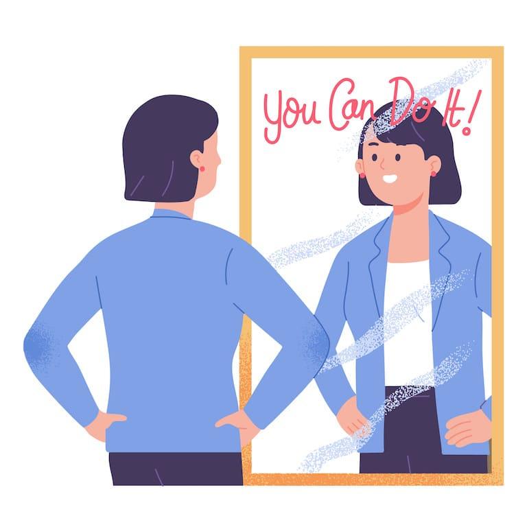 la confiance en soi est inconstante
